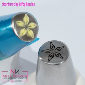 Sugar and Crumbs Nifty Nozzle -Starburst Flower-