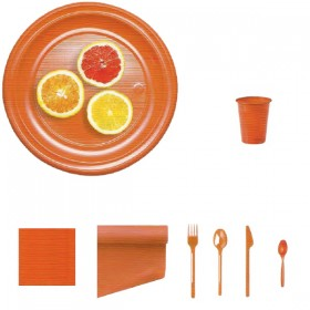 Arancio-plastica