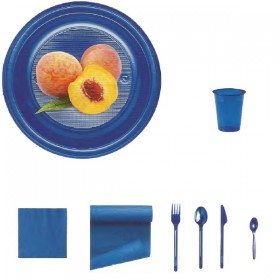Blue-plastica