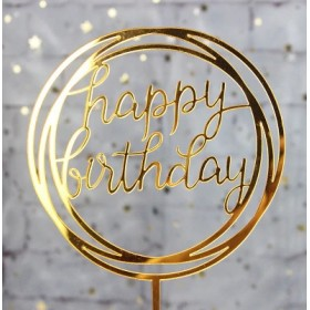 Happy Birthday Gold